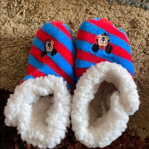 Disney Mickey Mouse high top slipper